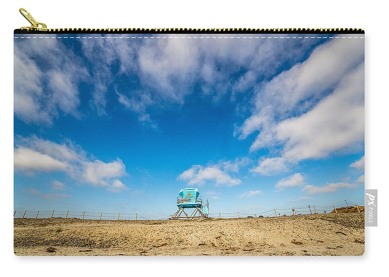 Beach Carry-all Pouch featuring the photograph Tower 20 South Ponto by Peter Tellone