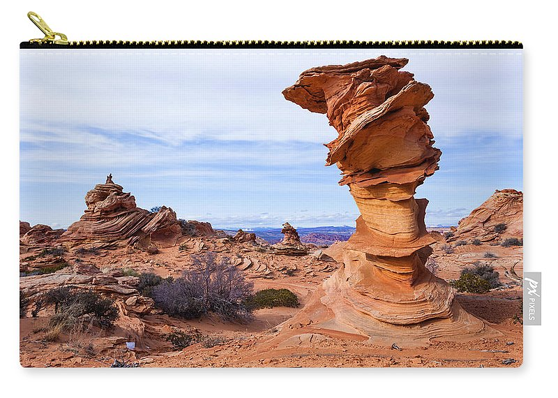 Towerscape Carry-all Pouch featuring the photograph Towerscape by Chad Dutson