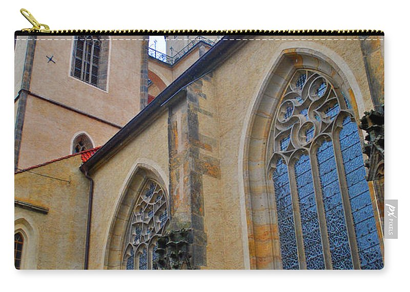 Wittenberg Carry-all Pouch featuring the photograph Town Parish Church by Jost Houk