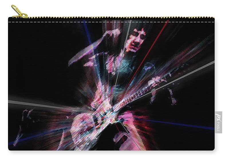 Rock Carry-all Pouch featuring the painting Townsend Meaty Beaty by Neil Finnemore