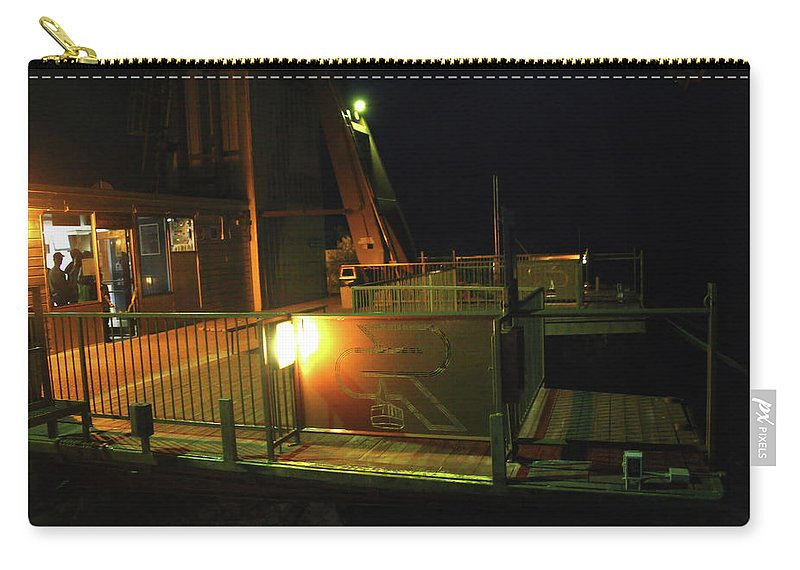 Albuquerque Carry-all Pouch featuring the photograph Tr10 Sandia Tram by James D Waller