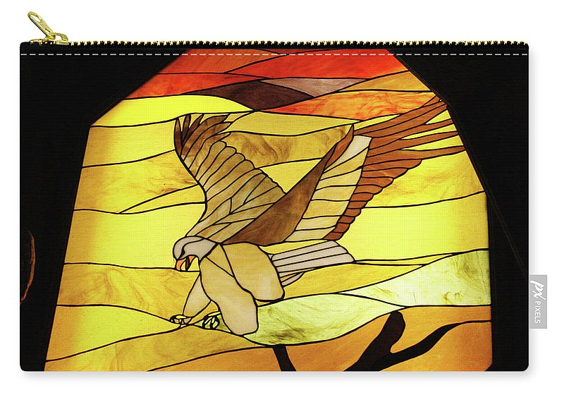 Albuquerque Carry-all Pouch featuring the photograph Tr13 Sandia Tram by James D Waller