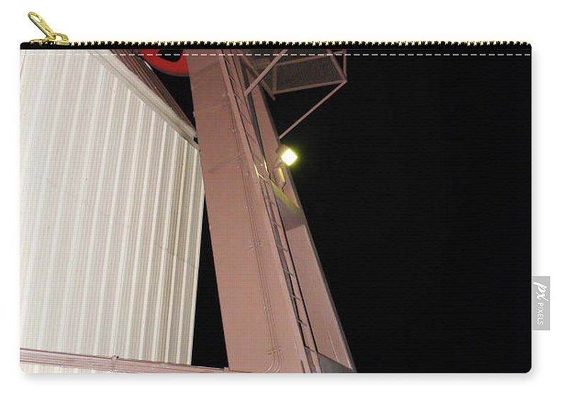Albuquerque Carry-all Pouch featuring the photograph Tr15 Sandia Tram by James D Waller