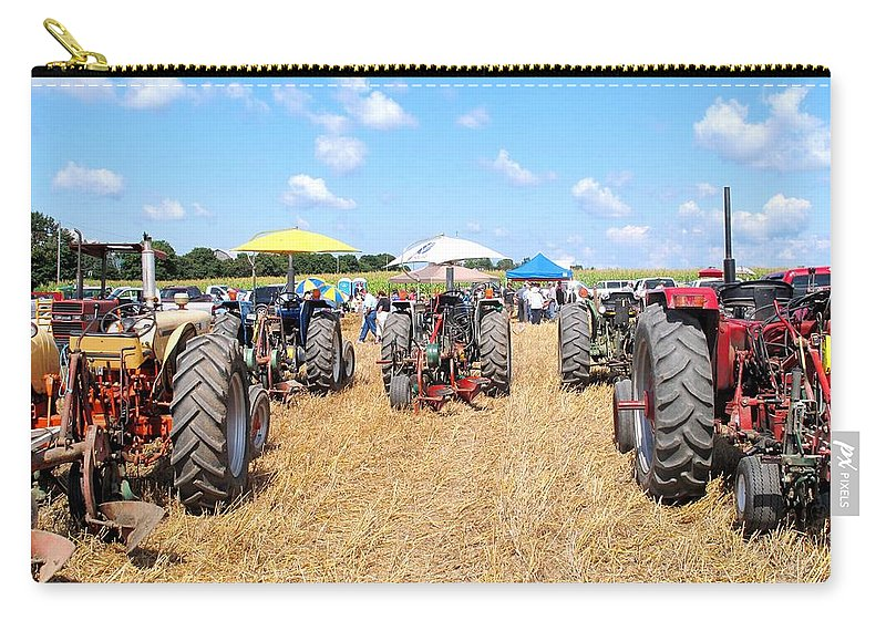 Tractors Carry-all Pouch featuring the photograph Tractor City by Ian MacDonald