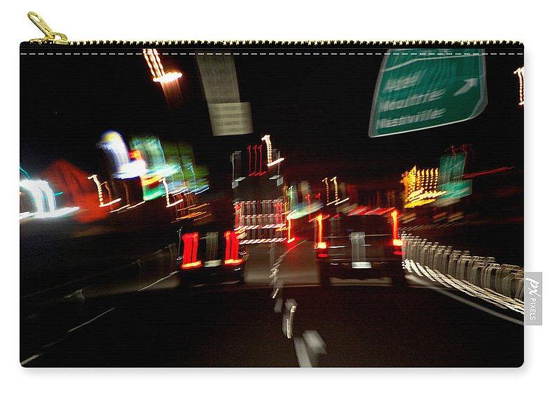 Cars Carry-all Pouch featuring the photograph Traffic by Robert Meanor