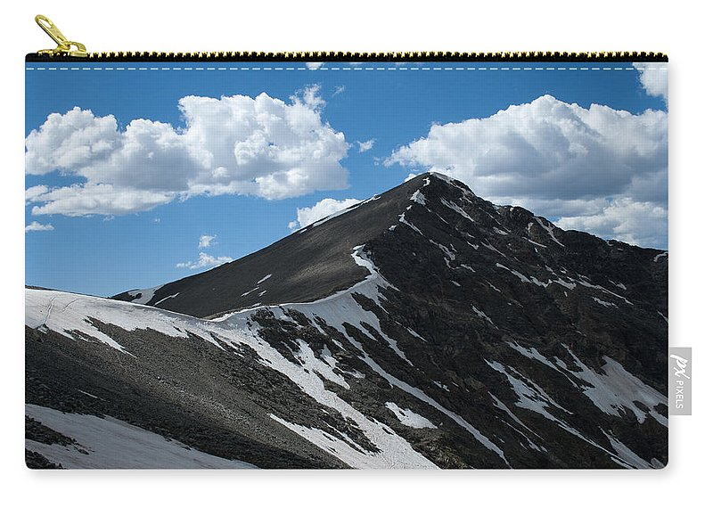Grays Peak Carry-all Pouch featuring the photograph Trail From Grays To Torreys by Angus Hooper Iii