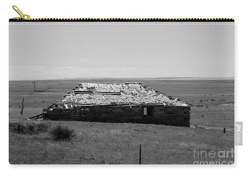 Sante Fe Trail Carry-all Pouch featuring the photograph Trail Ghosts by Tommy Anderson