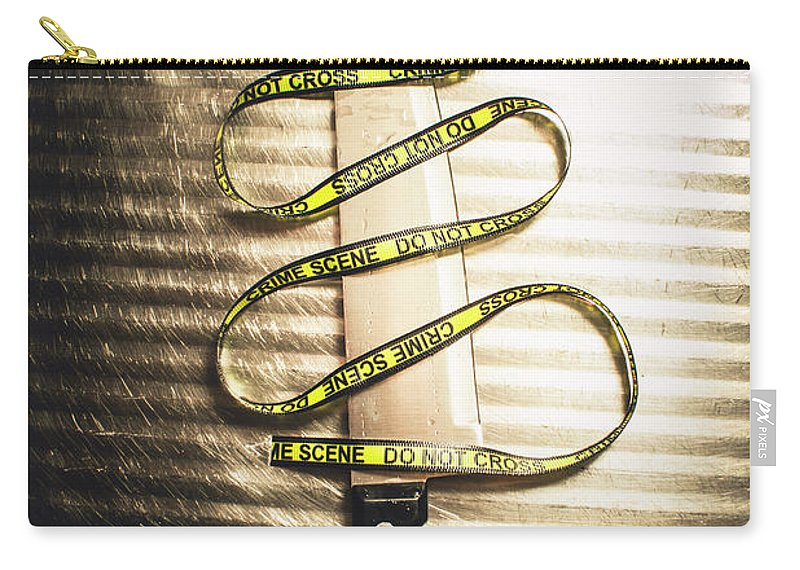 Trail Carry-all Pouch featuring the photograph Trail Of Clues by Jorgo Photography - Wall Art Gallery