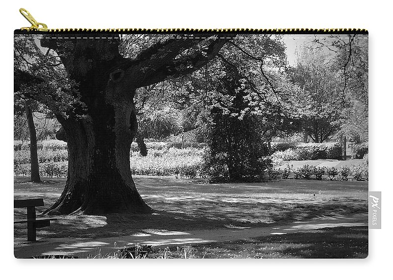 Irish Carry-all Pouch featuring the photograph Tralee Town Park Ireland by Teresa Mucha