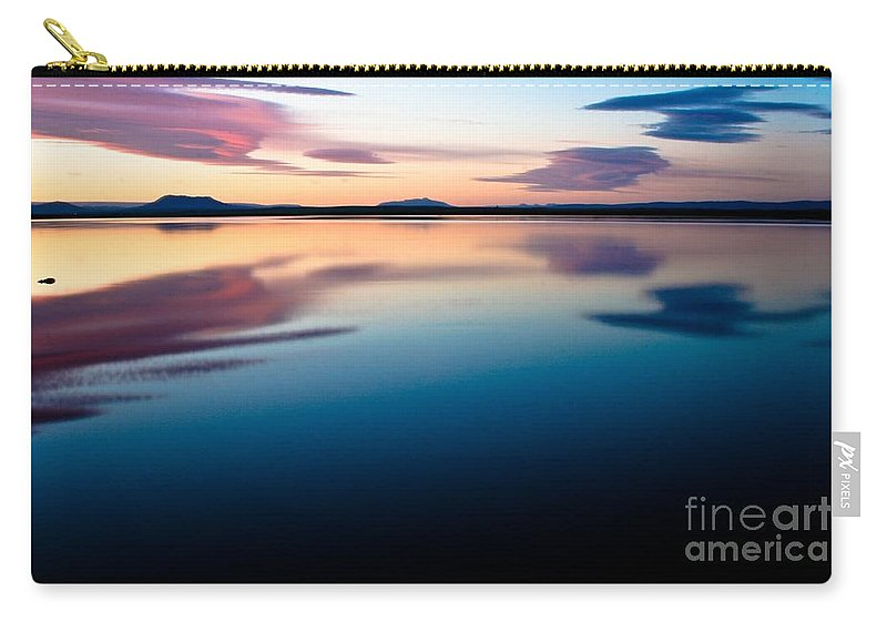 Tranquil Carry-all Pouch featuring the photograph Tranquil by Agusta Gudrun Olafsdottir