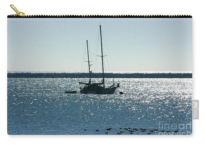 Seascape Carry-all Pouch featuring the photograph Tranquil Bay by Carol Groenen