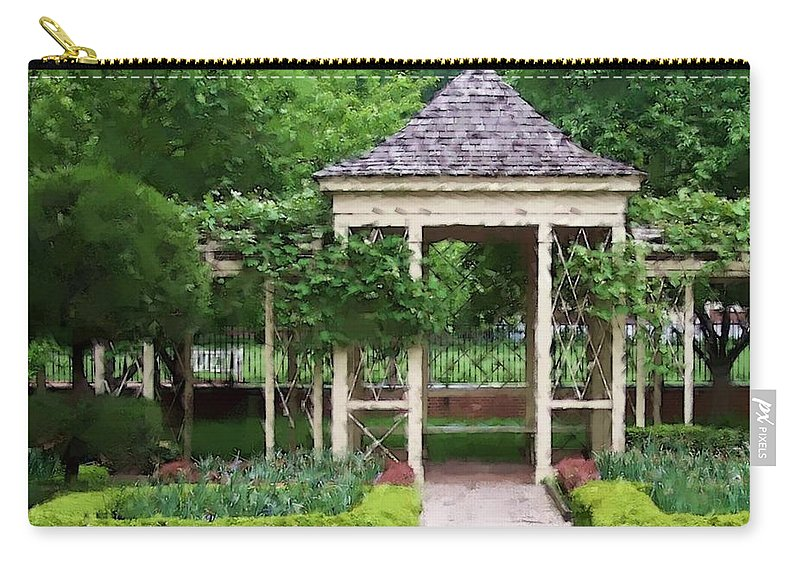Garden Carry-all Pouch featuring the photograph Tranquil by Debbi Granruth