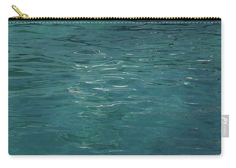 Water Carry-all Pouch featuring the photograph Tranquil by Eddie Barron