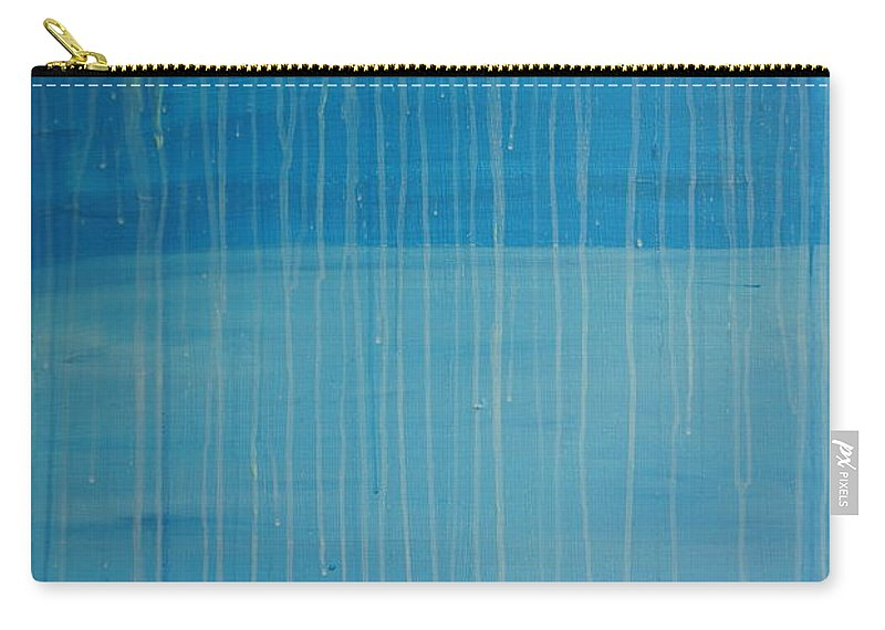 Abstract Carry-all Pouch featuring the painting Tranquility by Jimmy Clark