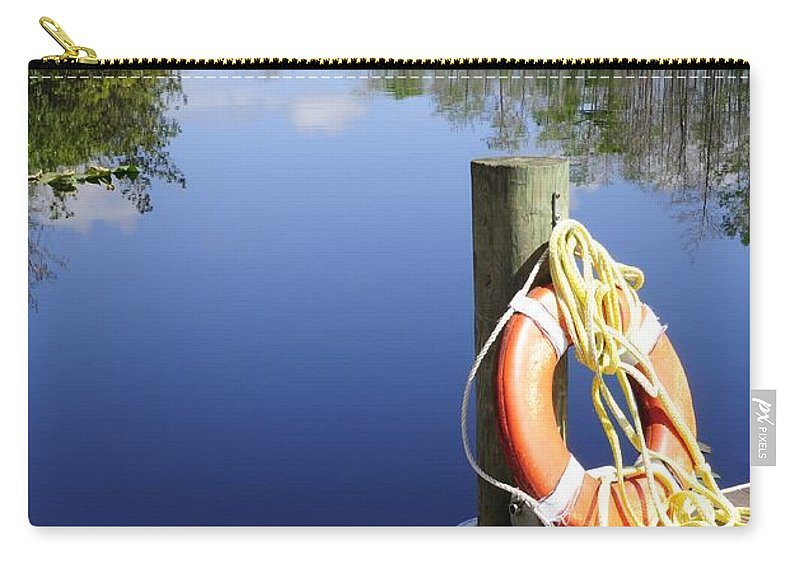 Tranquility Carry-all Pouch featuring the photograph Tranquility by Lisa Renee Ludlum