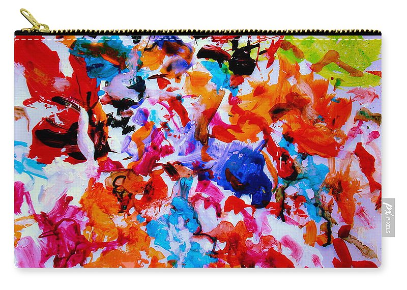 Abstract Carry-all Pouch featuring the painting Tranquility by Natalie Holland