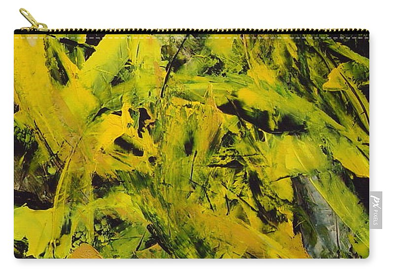 Abstract Carry-all Pouch featuring the painting Transitions Vi by Dean Triolo