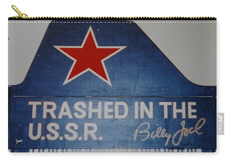 Billy Joel Carry-all Pouch featuring the photograph Trashed In The U S S R by Rob Hans