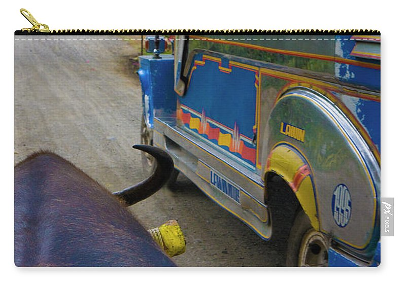 Betsy Carry-all Pouch featuring the photograph Traveling Along by Betsy Knapp