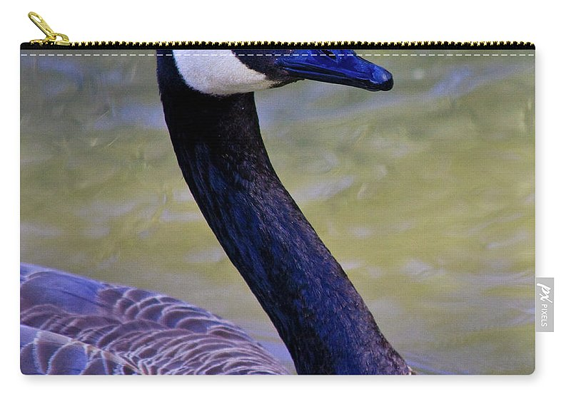 Canadian Carry-all Pouch featuring the photograph Traveling Man by Betsy Knapp