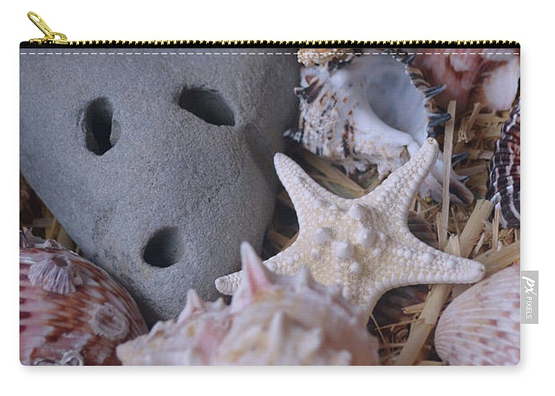 Sea Treasure Carry-all Pouch featuring the photograph Treasure by Luv Photography