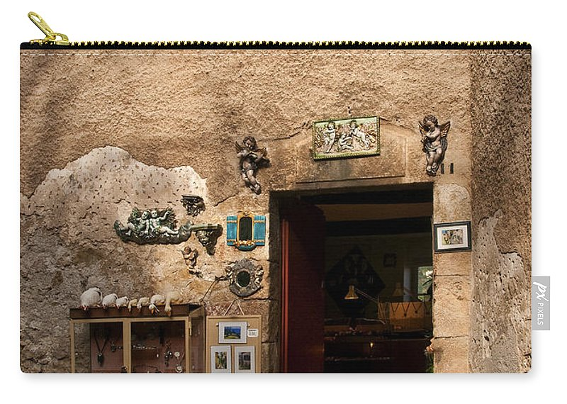 Eze France Carry-all Pouch featuring the photograph Treasures In Eze by Steven Sparks