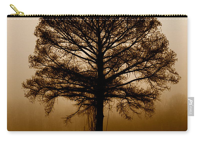 Trees Carry-all Pouch featuring the photograph Tree by Amanda Barcon