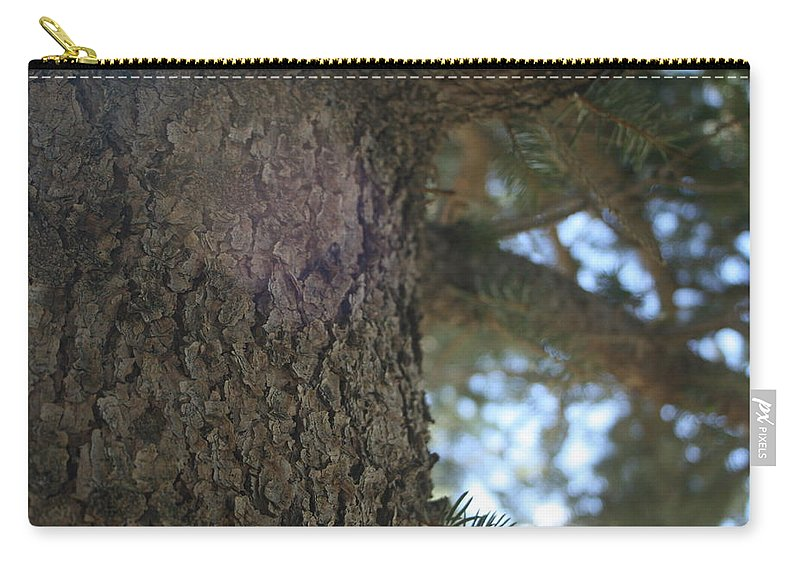 Tree Carry-all Pouch featuring the photograph Tree by Ashlyn Yates