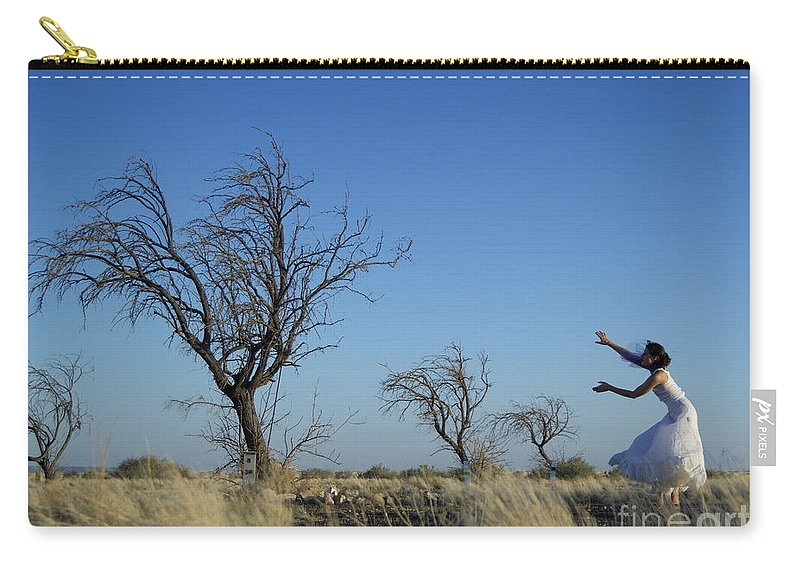Landscape Carry-all Pouch featuring the photograph Tree Echo by Scott Sawyer