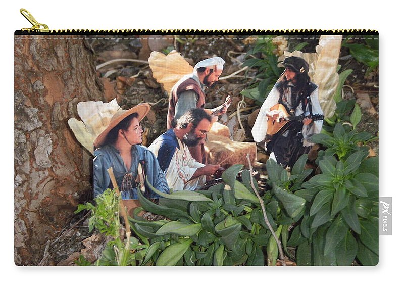 Landscape Carry-all Pouch featuring the photograph Tree Faries by Edward Wolverton