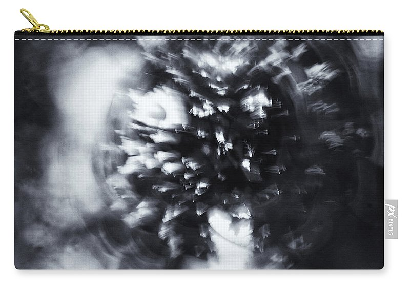 Abstract Carry-all Pouch featuring the photograph Tree Implosion by Scott Wyatt