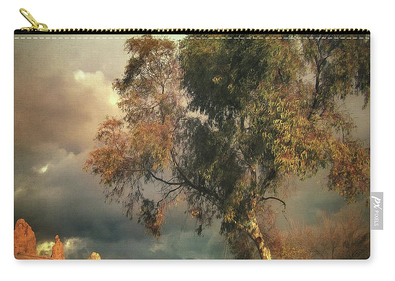 Tree Carry-all Pouch featuring the photograph Tree Of Confusion by Zapista