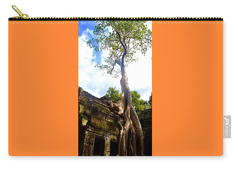 Temple Carry-all Pouch featuring the photograph Tree Of Life by Jane Rachel Mendoza