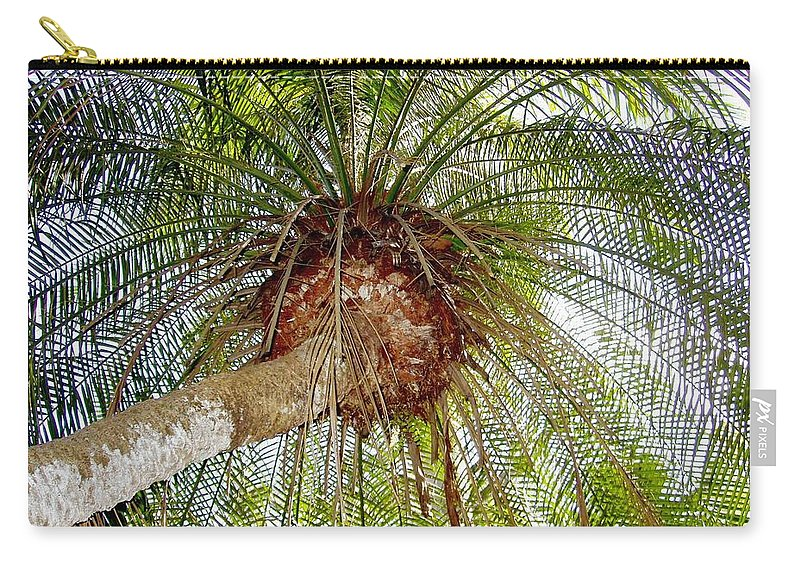 Tree Carry-all Pouch featuring the photograph Tree Spray by Deborah Crew-Johnson