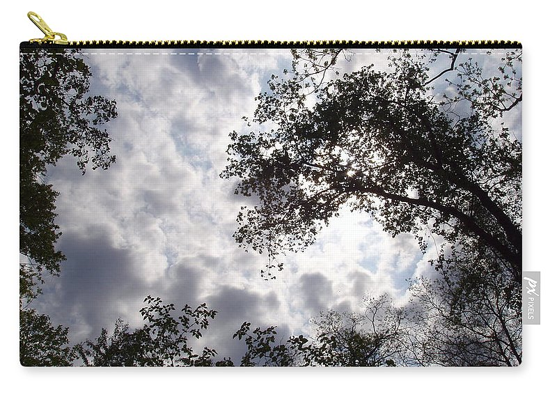 Tree Carry-all Pouch featuring the photograph Tree Swirl by Deborah Crew-Johnson