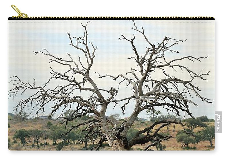 Carry-all Pouch featuring the photograph Tree009 by Jeff Downs