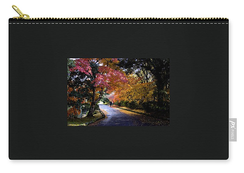 Trees Carry-all Pouch featuring the photograph Trees In Japan 1 by George Cabig