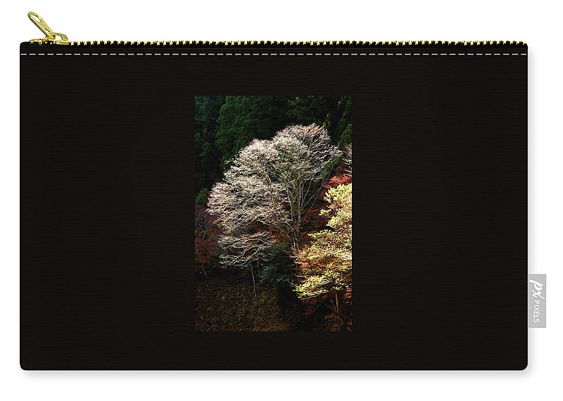 Trees Carry-all Pouch featuring the photograph Trees In Japan 11 by George Cabig