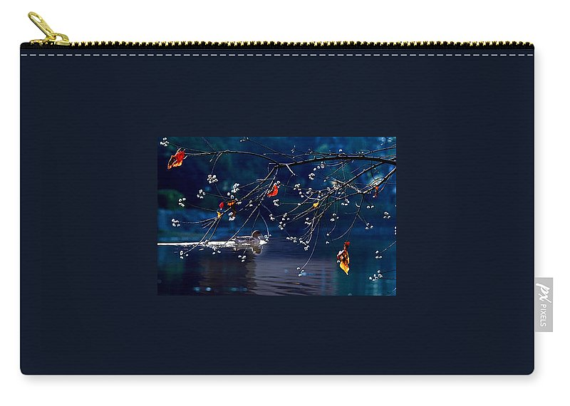 Water Carry-all Pouch featuring the photograph Trees In Japan 5 by George Cabig