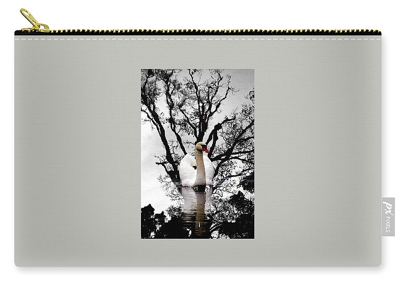Water Carry-all Pouch featuring the photograph Trees In Japan 6 by George Cabig
