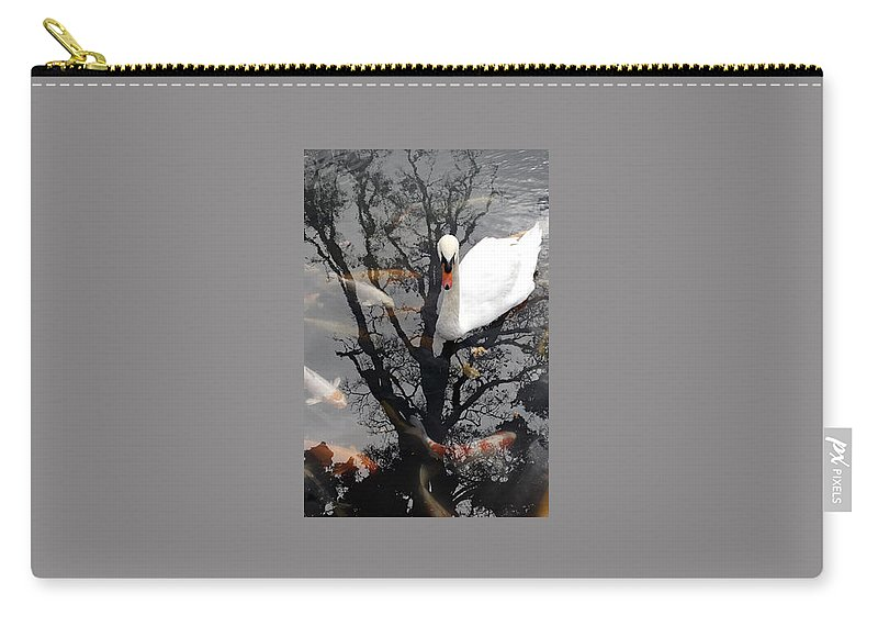 Water Carry-all Pouch featuring the photograph Trees In Japan 7 by George Cabig
