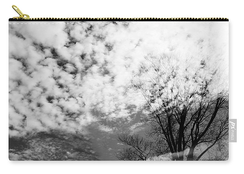 Spirit Carry-all Pouch featuring the photograph Tree's Spirit by Munir Alawi