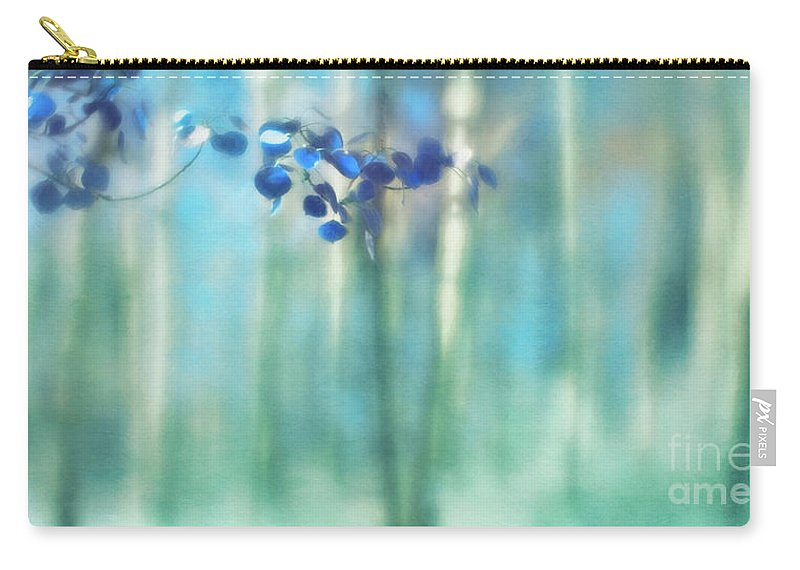 Aspen Carry-all Pouch featuring the photograph Trembling Leaves by Priska Wettstein