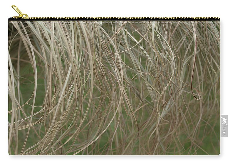 Tresses Carry-all Pouch featuring the photograph Tresses by Douglas Barnett
