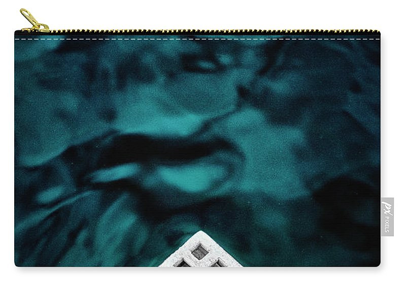 Abstract Carry-all Pouch featuring the photograph Triangular Abstract by Russ Dixon