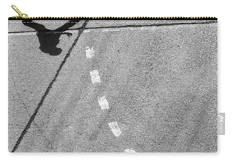 Shadows Carry-all Pouch featuring the photograph Tried To Say by The Artist Project