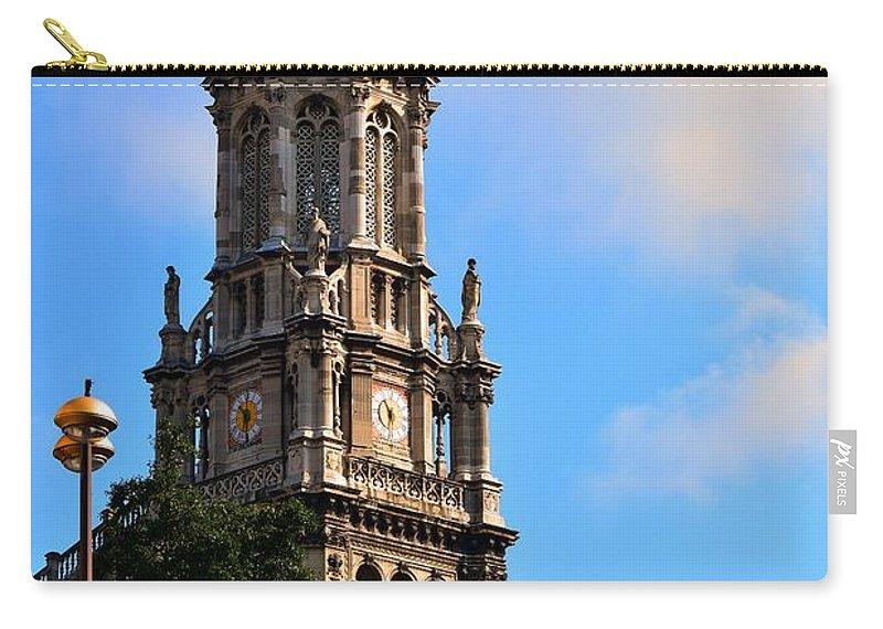 Church Carry-all Pouch featuring the photograph Trinity Church by Valerie Dauce