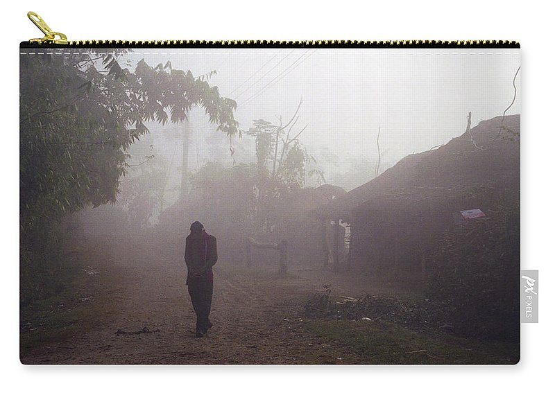 Nepal Carry-all Pouch featuring the photograph Tristesse by Patrick Klauss