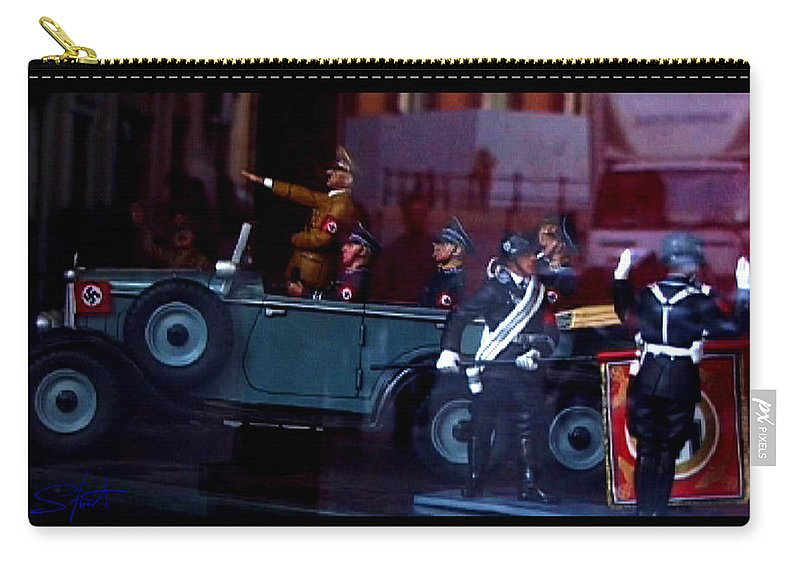 Dream Carry-all Pouch featuring the photograph Triumph In Miniture by Charles Stuart