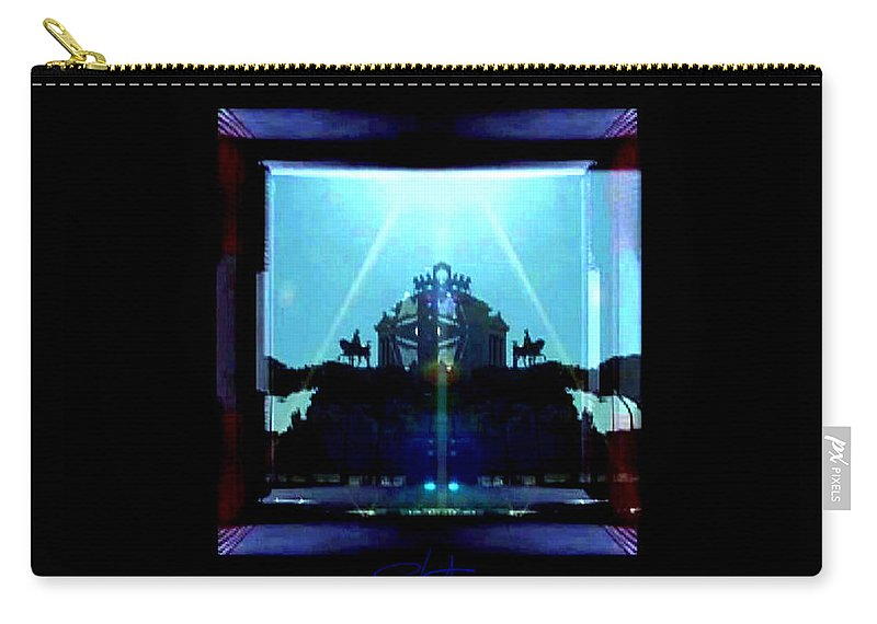 Dream Carry-all Pouch featuring the photograph Triumph In Rome by Charles Stuart